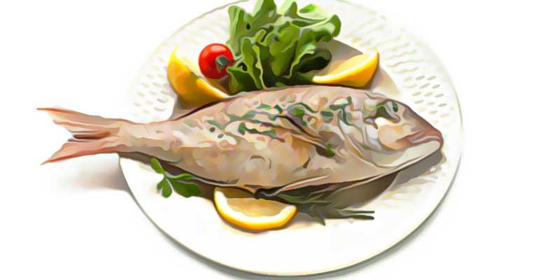 Готовая рыба для похудения