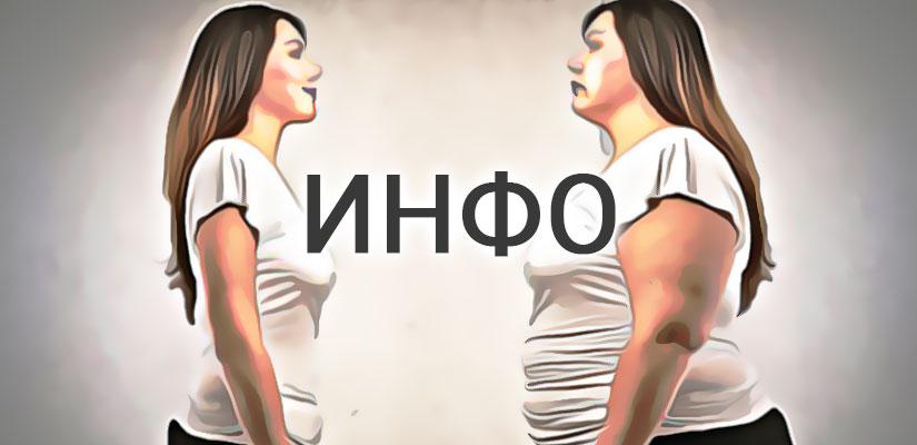 Информация о лишнем весе и ожирении