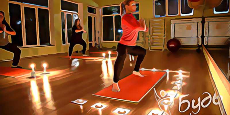 Лагерь Будь в форме вечерняя йога