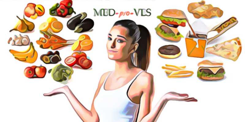 Полезная и вредная еда для похудения