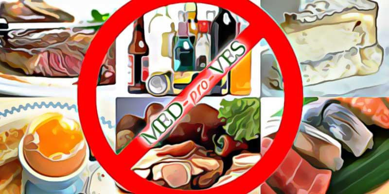 Запрещено есть при похудении