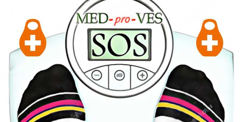 Весы показывают SOS