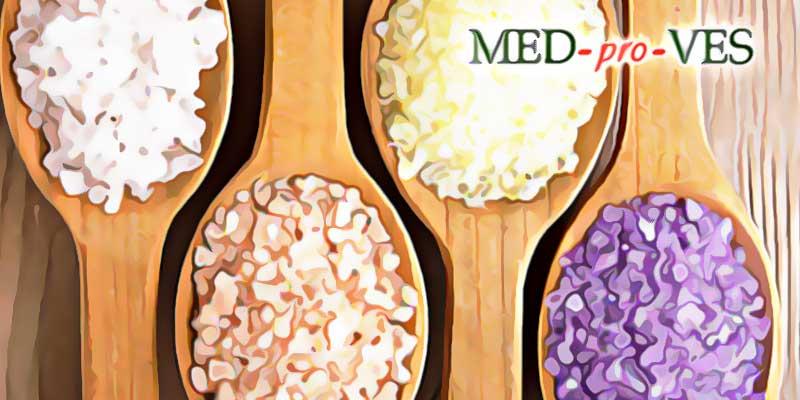 Цветная соль для похудения