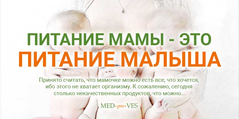 Питание мамы для похудения