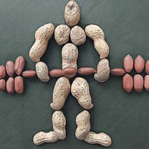 Спортсмен из арахиса