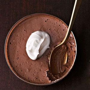 Десерты с какао