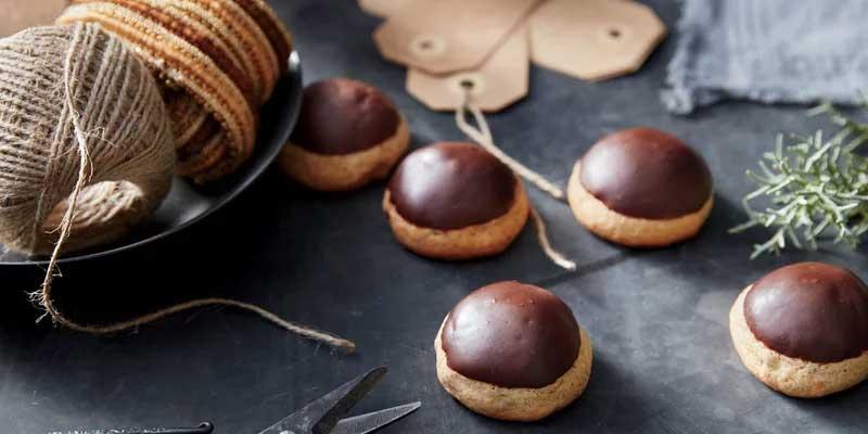 Диетическое печенье с шоколадом