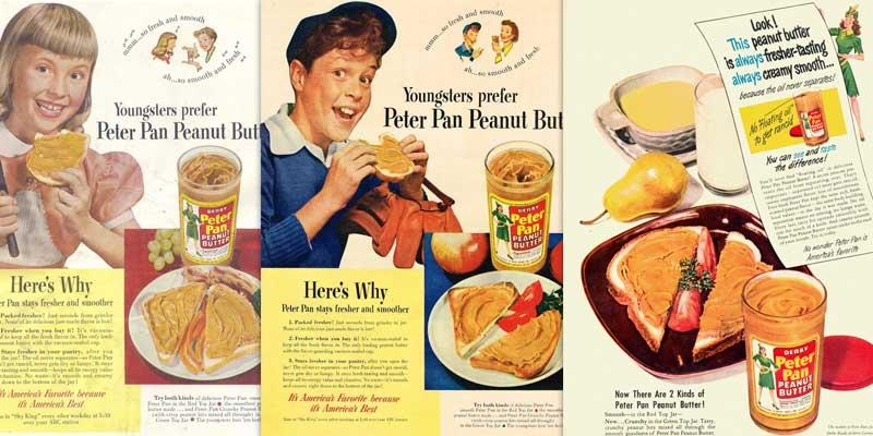Пропаганда арахисовой пасты в Америке