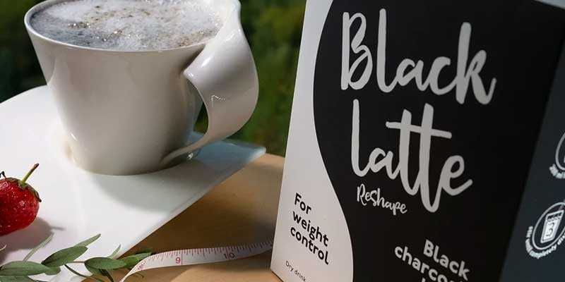 Black Latte - кофе на активированном угле для похудения